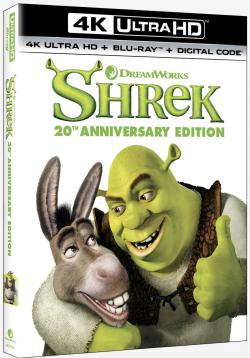 SHREK - 20th Anniversary Edition on 4K Ultra HD, Blu-ray, & Digital!