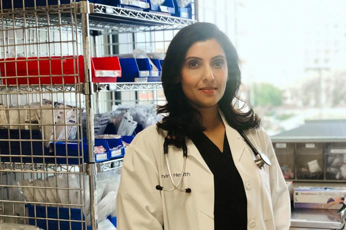 Nilu Patel, a certified registered nurse anesthetist, was at a takeout restaurant when she saw an angry confrontation between a worker and customers over the use of face coverings.