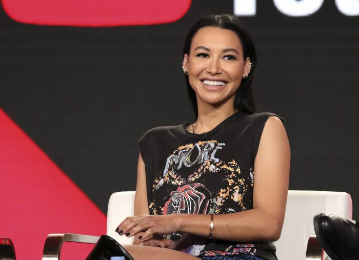 "Naya Rivera participates in the ""Step Up: High Water"" panel during the YouTube Television Critics Association Winter Press Tour in Pasadena, Calif."