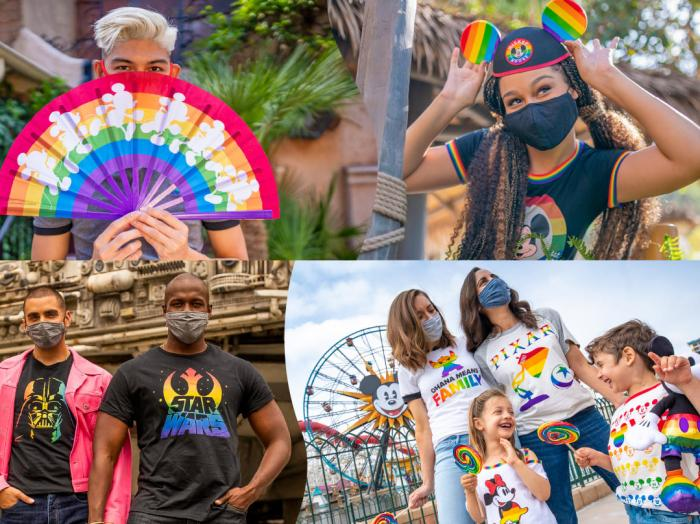 Disney celebrates Pride month with a new Rainbow Collection