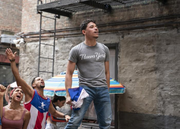 """Anthony Ramos in a scene from """"In the Heights."""""""