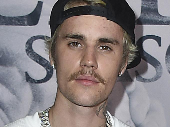In this Jan. 27, 2020 file photo, Justin Bieber arrives at the Los Angeles premiere of 'Justin Bieber: Seasons.'